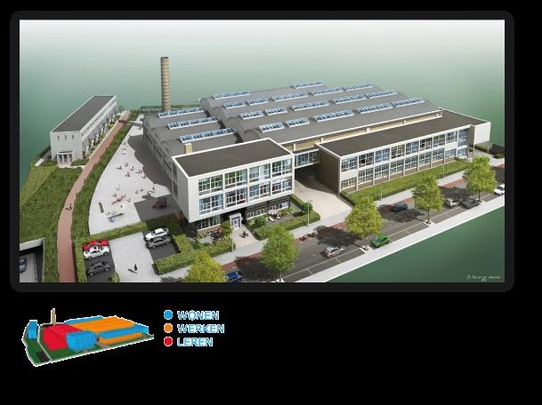 Zo ziet De Melkfabriek Hilversum er uit als de verbouwing voltooit is (http://www.demelkfabriekhilversum.nl)