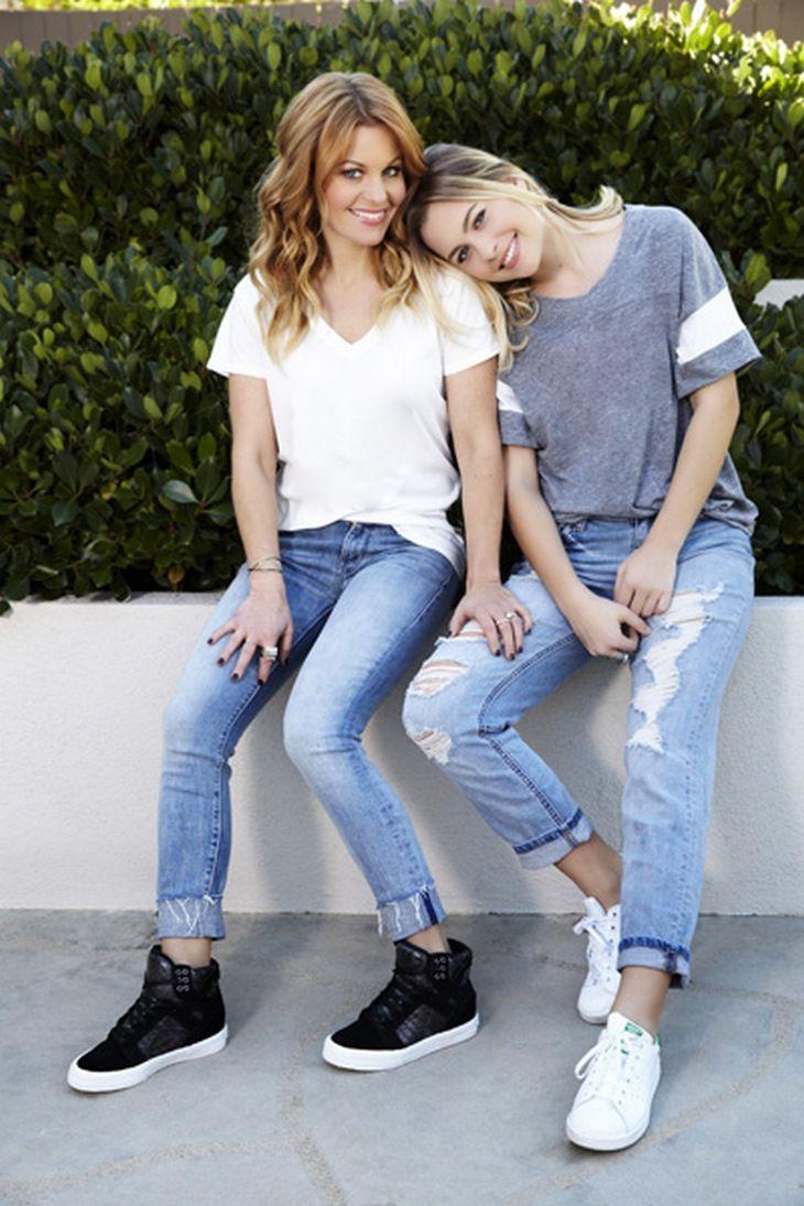 Candace Cameron Bure and Daughter Natasha Join J-14 Advice Column Team