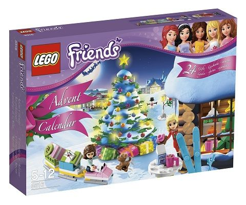 24 days of LEGO® Friends building fun!   The holiday season has arrived in Heartlake City. Head outside with Olivia, Christina and their dog Coco! Bu