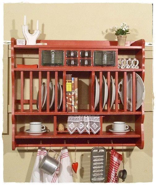 Wandregal, Tellerregal, Küchenregale von Ansolece auf DaWanda.com