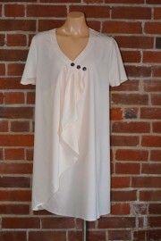 Ivory wrap tunic/dress $99