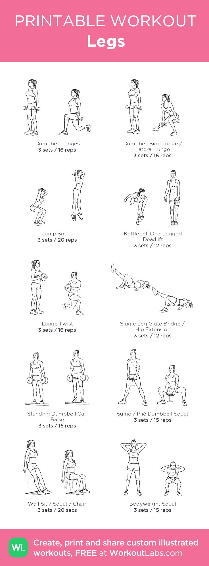 Legs –my custom workout created at WorkoutLabs.com