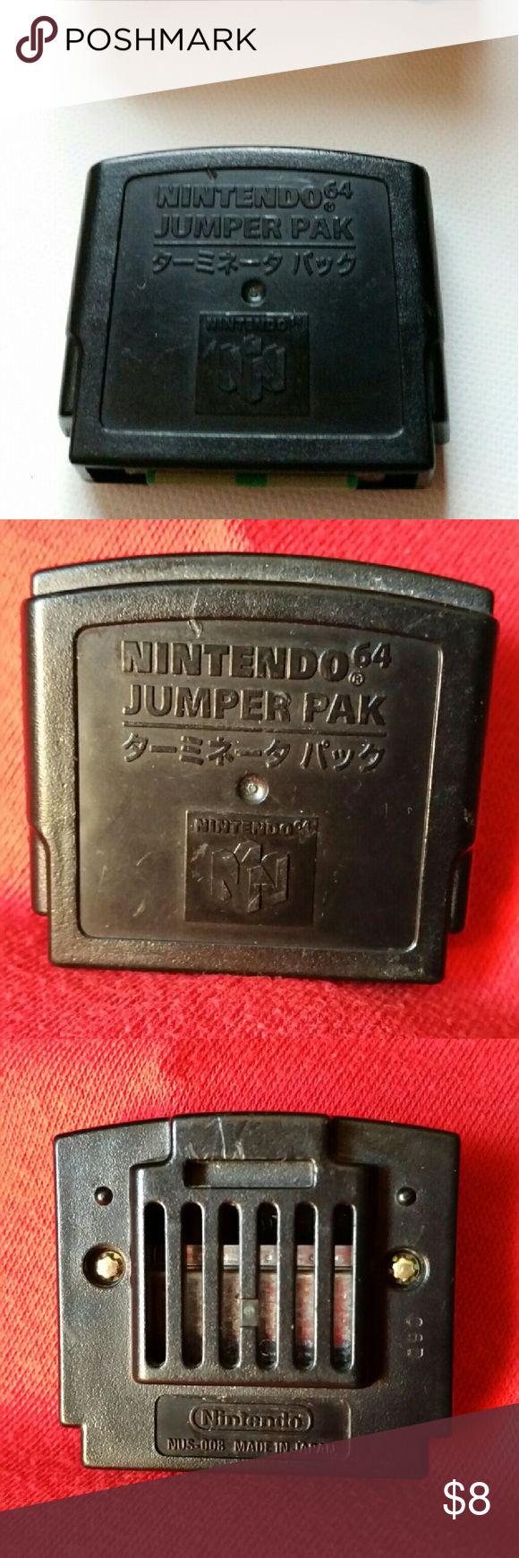 Nintendo 64: Jumper Pak Used condition. Nintendo Other