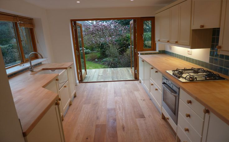 Using part of garage for kitchen extension google search for Garage extension designs