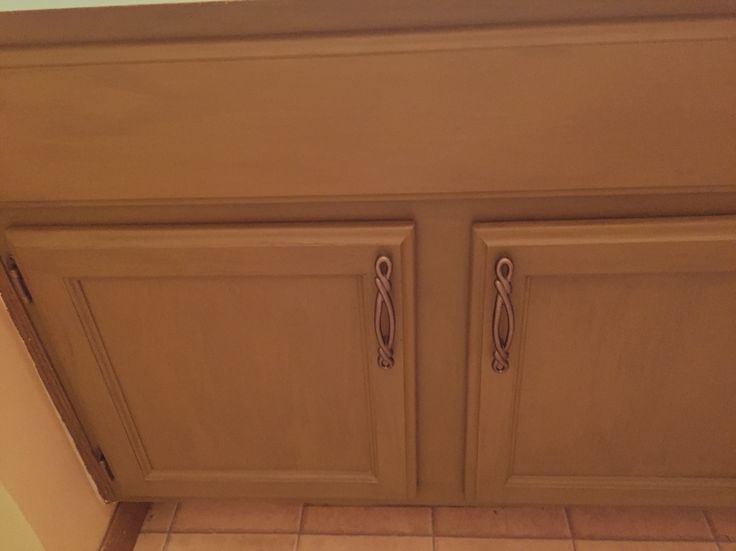 bathroom cabinets with pinecone with van dyke glaze