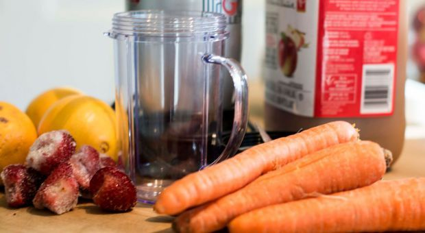 An attempt at a one-week juice cleanse