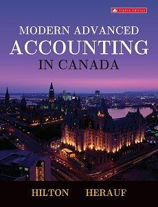 Modern Advanced Accounting in Canada 8th edition solutions manual test bank answer key