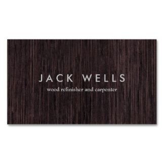 Simple Wood Grain Rustic Carpenter Carpentry Business Cards. Perfect for contractors, builders, electricians, plumbers, painters and more. Fully customizable and ready to order. customizable business cards | cheap business cards | cool business cards | Business card templates | unique business cards