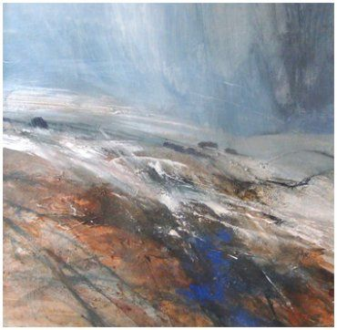 Snow on Bowland Hills Norma Stephenson