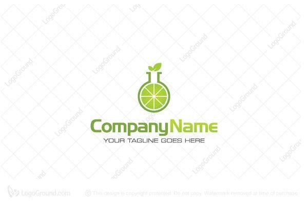 Logo for sale: Lime Lab Logo