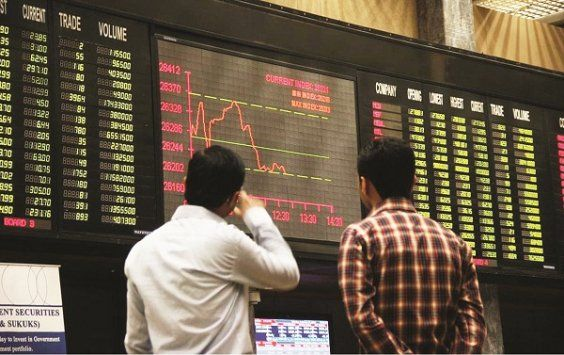 Stock Market index loses 2100 points