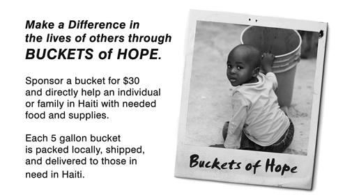 Buckets of Hope