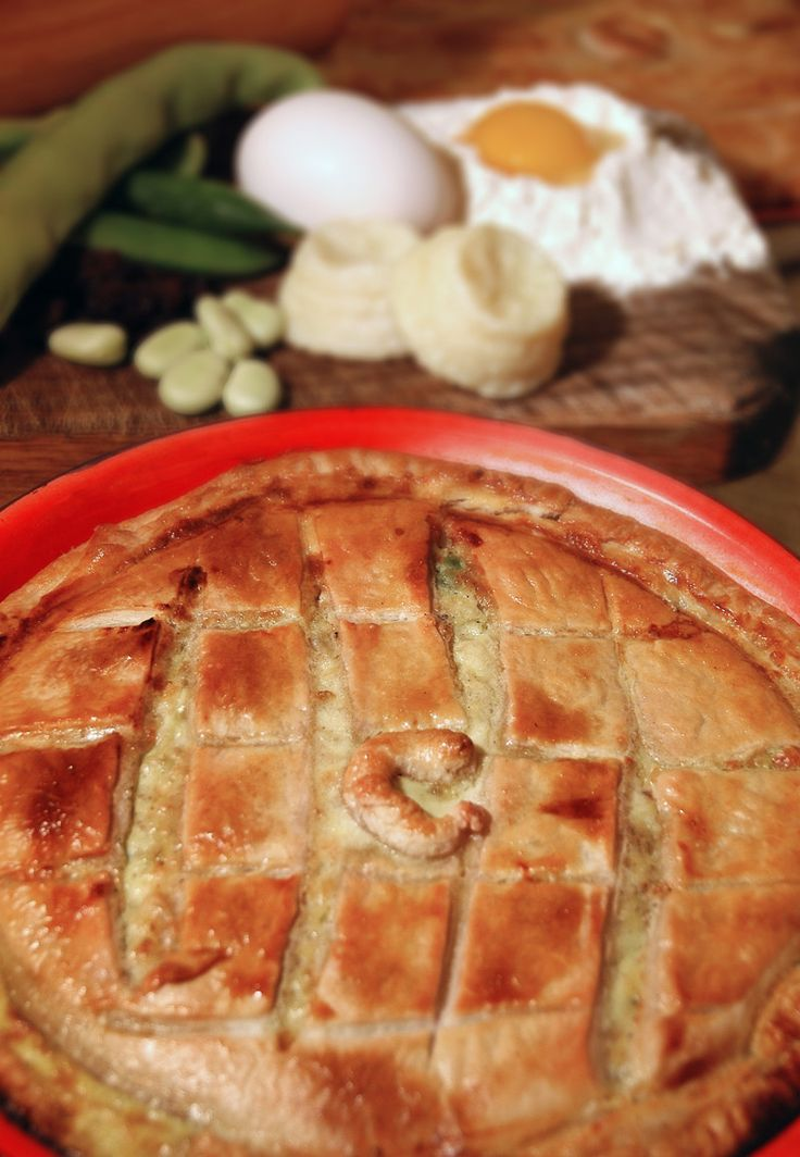 Lampuki Pie, Maltese Fish Pie  #Food #Cuisine