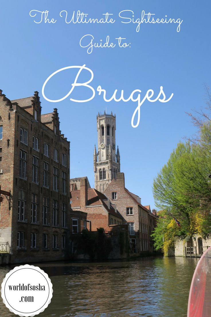 The Ultimate Sightseeing Guide to Bruges - Canva