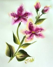 One Stroke Seasonal Flowers - Summer Azaleas