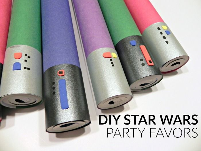 I love to send party guests home with a little something to thank them for coming. Unfortunately, party favors can get expensive FAST, especially when you are dealing with a highly merchandized theme like a Star Wars party. I was thankful to be able to make cool themed party favors for the kids at the …