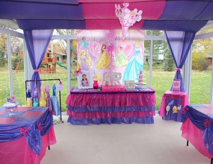 "Disney Princess / Birthday ""Allie's 3rd Birthday""   Catch My Party"
