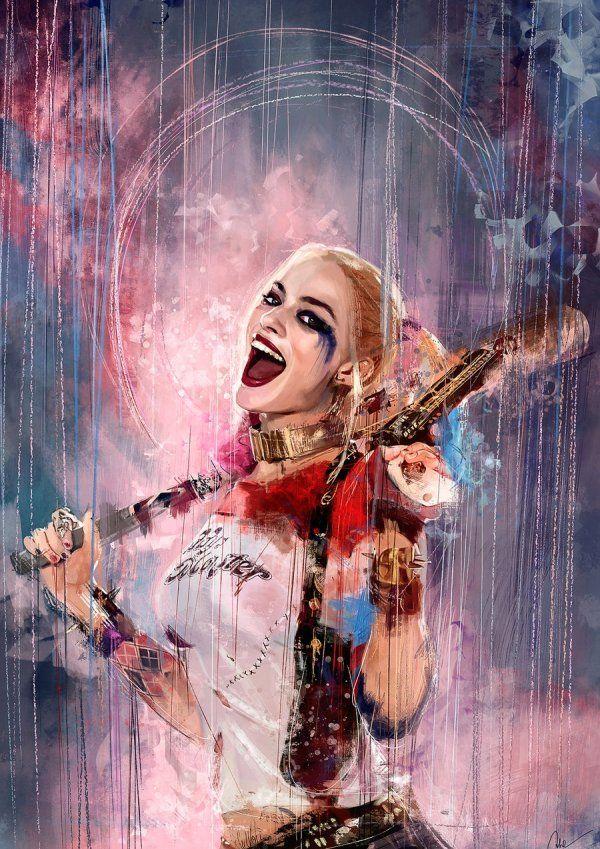 Harley Quinn #fanart #SuicideSquad