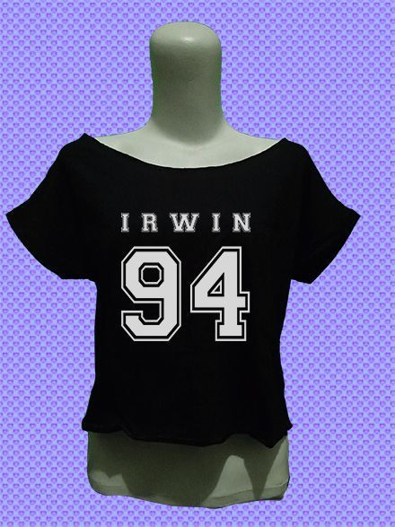 5sos 5 second of summer 5 sos ashton irwin 94 crop top tee shirt tshirt womens women girl fashion outfit #Unbranded #CropTop #Casual
