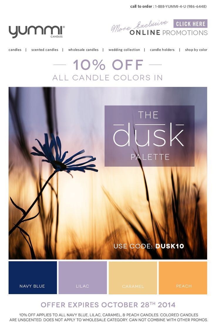 10% OFF The Dusk Palette! Use Promo Code DUSK10 At Checkout