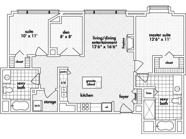 16 Best Images About Floor Plans For Mda City Apartments On Pinterest Studios For The And Decor