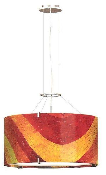 25 best pendant lighting images on pinterest pendant lamp pendant oggetti pendant fixture mosaic round suspension aloadofball Choice Image