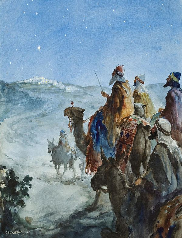Three Wise Men by Henry Collier