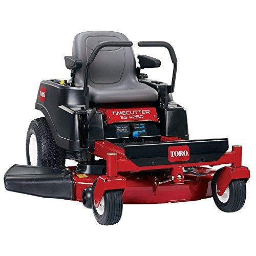 TimeCutter SS4250 42 in. 24.5 HP Toro V-Twin Zero-Turn Riding Mower with Smart Speed TimeCutter SS4250 42 in. 24.5 HP Toro V-Dual 0-Flip Driving Mower with Good Velocity  http://industrialsupply.mobi/shop/timecutter-ss4250-42-in-24-5-hp-toro-v-twin-zero-turn-riding-mower-with-smart-speed/