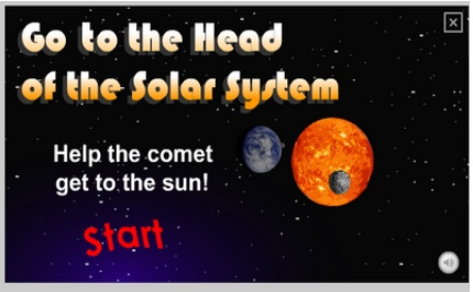 Solar system game for elementary kids--requires Flash  http://www.nasa.gov/audience/forkids/kidsclub/flash/games/levelfive/KC_Solar_System.html
