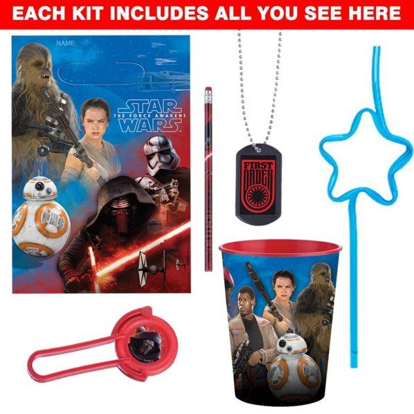 Check out Star Wars Episode VII Favor Kit - Wholesale Supplies from Wholesale Party Supplies