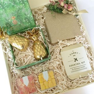 Tropical Wedding Bridesmaid Gift.