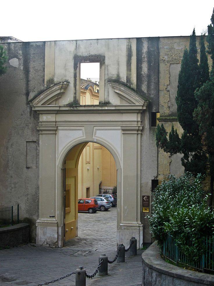 L'Ingresso del Monastero di Santa Chiara a Napoli!!!