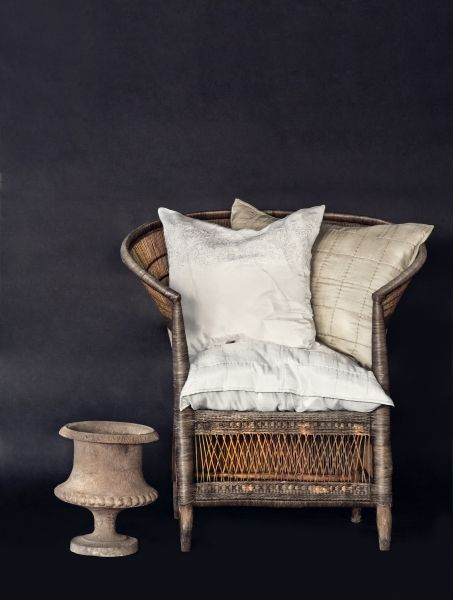 A perfect wicker chair.