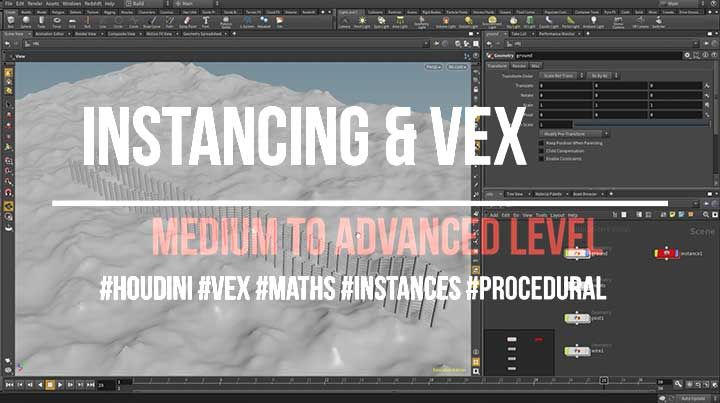 Learn how to use VEX Math for procedural modeling in Side FX