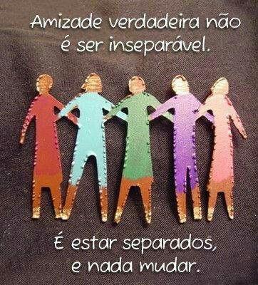 Amizade verdadeira..