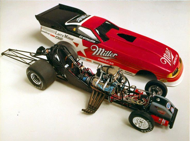 Photo from David Carl Peters.  This is from the American Nitro Facebook page. (Model cars, plastic model)