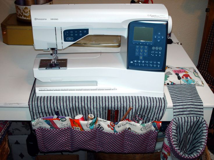 sewing room organization ideas | With Heart and Hands: Free Sewing Accessories Patterns