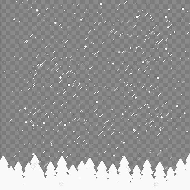 Winter Falling Snow Particles With Snowy Trees Winter Snowy Snow Png And Vector With Transparent Background For Free Download Snowy Trees Snow Covered Trees Snowy