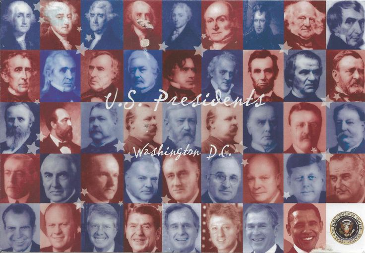All US Presidents