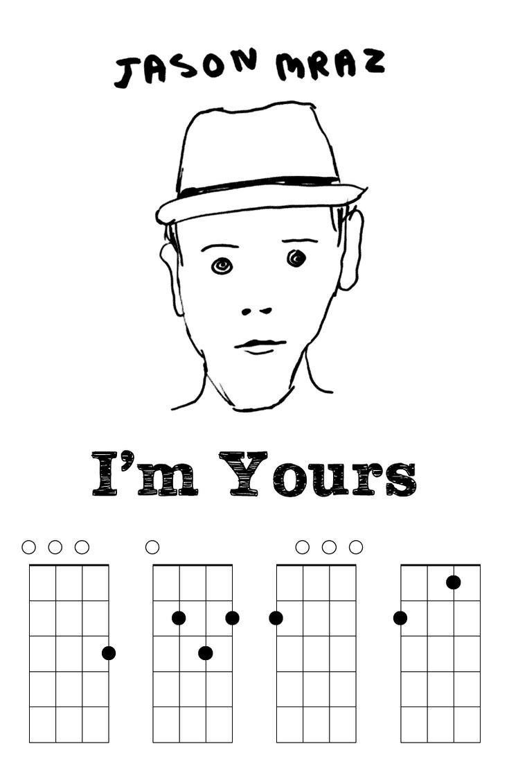 Iu0026#39;m Yours By Jason Mraz u0026#39;Ukulele Chords : Music : Pinterest : An, Jason mraz and Ukulele chords