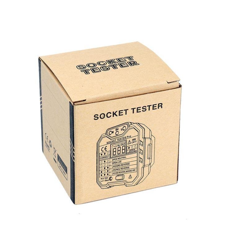 Daniu ht106b socket outlet tester circuit polarity voltage