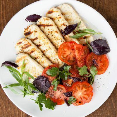 Рецепт и фото Жареный адыгейский сыр — Сочетайзер