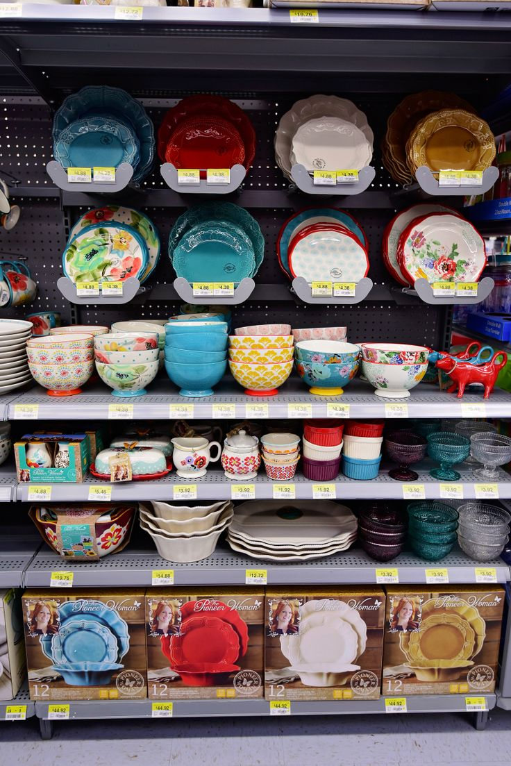 The Pioneer Woman Collection! I don't think I've swooned over dishes until now. I will clear all my shelves for these. I need to work on a favorites list. Nearly impossible, but Christmas is coming.