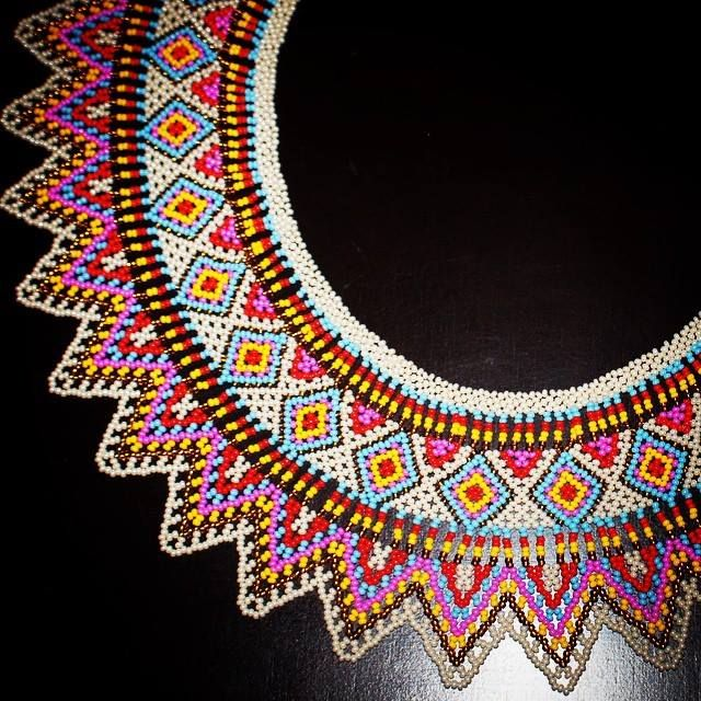 Necklace by The Embera People from Colombia, Handmade. More info: ilianaarrazola@gmail.com