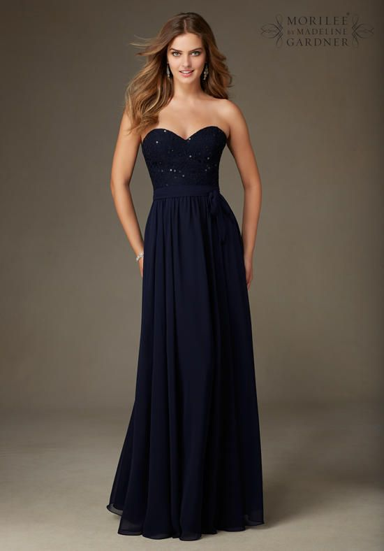Mori Lee by Madeline Gardner Bridesmaids 128 Bridesmaid Dress - The Knot