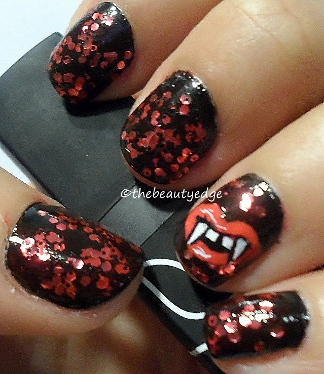 17 best images about bad ass nail art on pinterest nail art halloween vamp nail art manicure prinsesfo Images