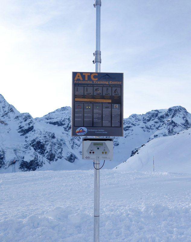 ATC Avalanche Training Center in SULDEN Südtirol