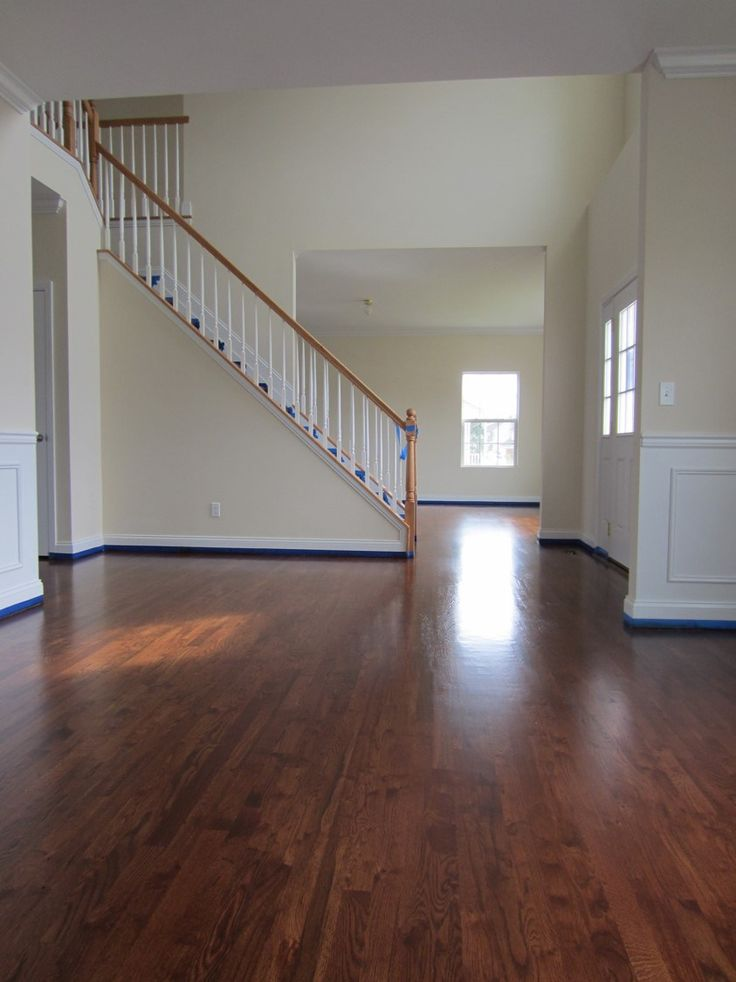 Rustic Grade 2 1 4 Red Oak Installed And Finished With