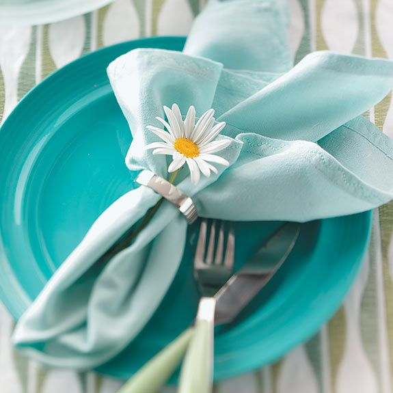 Add a special touch to your dinner table with these napkin folding ideas. You don't need anything fancy to get started—just a few napkins and these easy step-by-step instructions.
