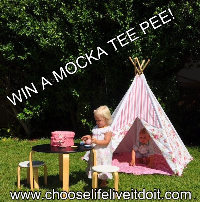 Giveaway: http://www.chooselifeliveitdoit.com/2013/02/a-tea-party-in-mocka-tee-pee-giveaway.html